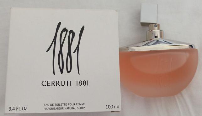 CERRUTI 1881 POUR FEMME  EDT Opakowanie 100ml perfumy damskie Oryginał