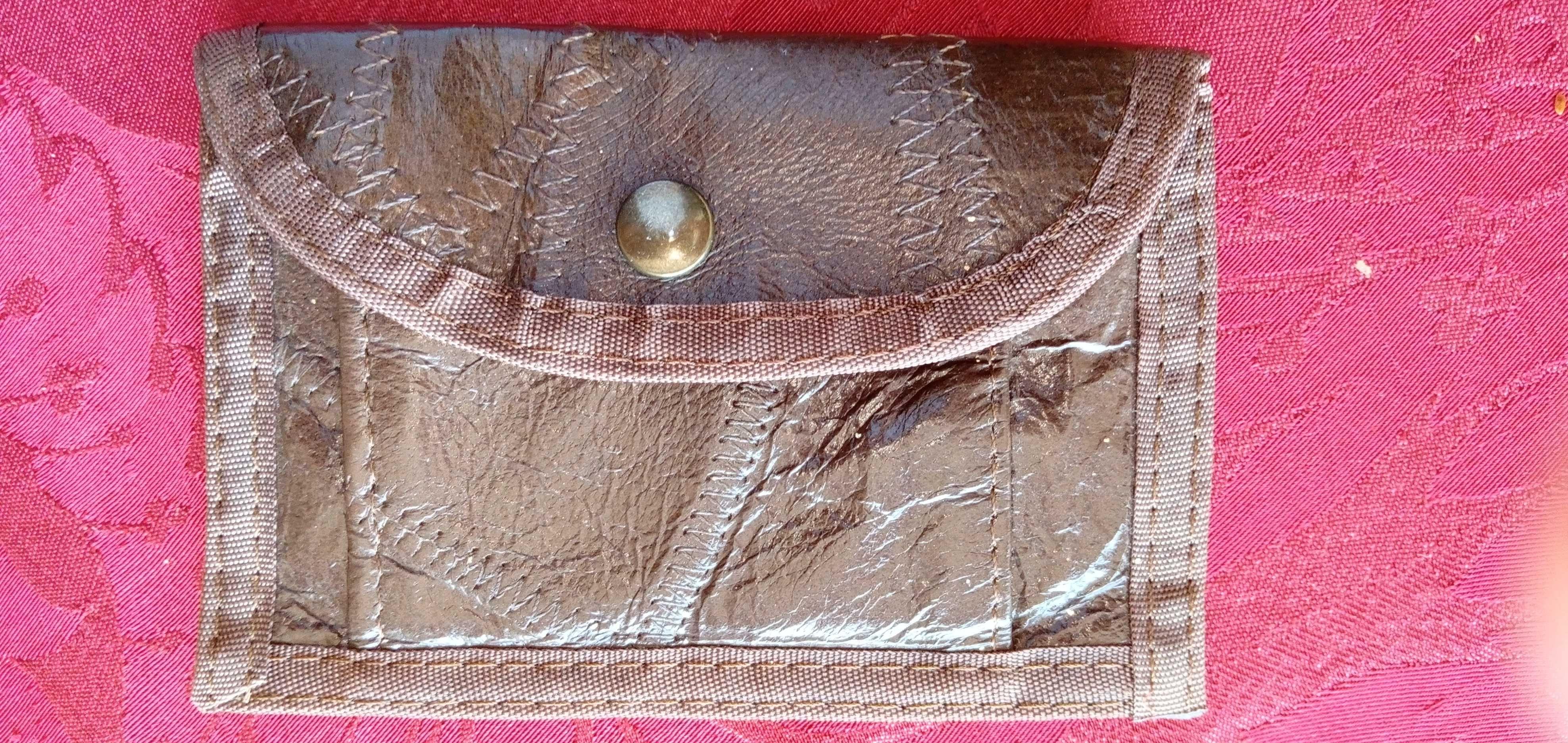 Porta moedas castanho pele vintage-3E- P.moedas preto antigo-3Edesde2E