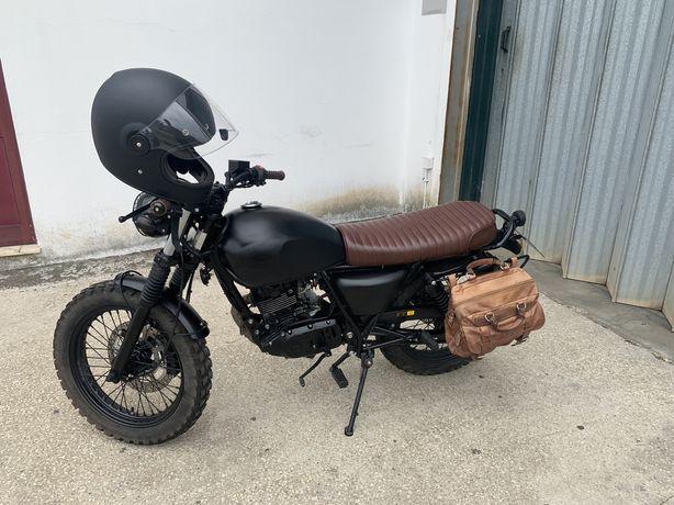 Mutt Mongrel 125cc Estilo Scrambler