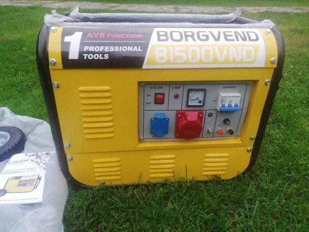 Agregat prądotwórczy  Borgvend B1500VND
