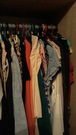 Wietrzenie szafy. Rozmiary 40-44 ubrania nowe i uzywane hm ca ff denim