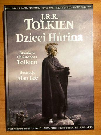 J.R.R. Tolkien – Dzieci Húrina, wyd. Amber, twarda