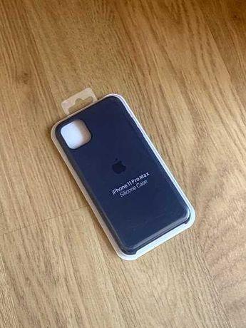 Apple etui case iphone 11 pro max granatowy