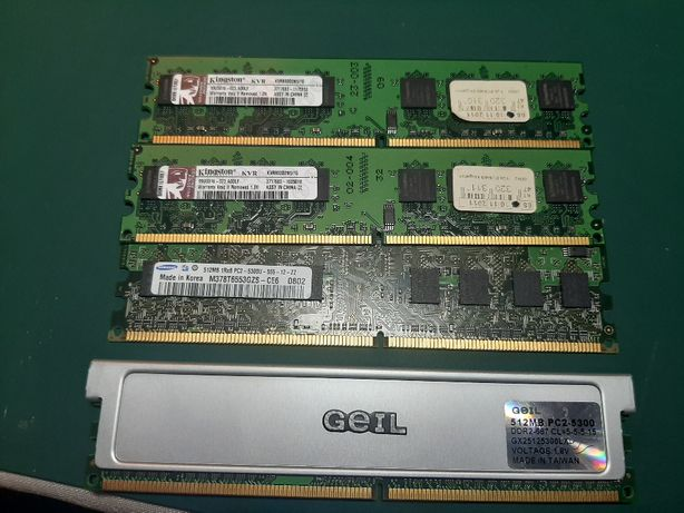 память DDR 2 - 3 Gb