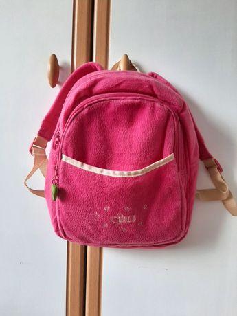 Plecak dla dziewczynki różowy