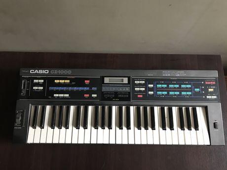 Keyboard Syntezator CASIO CZ-1000 unikalny zadbany