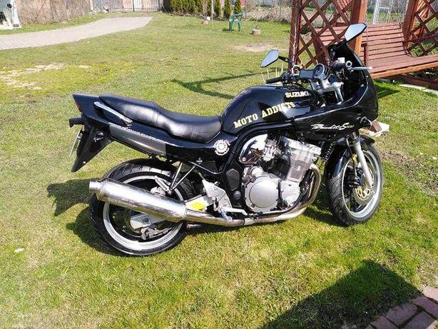 Suzuki Bandit 600S, kat. A2