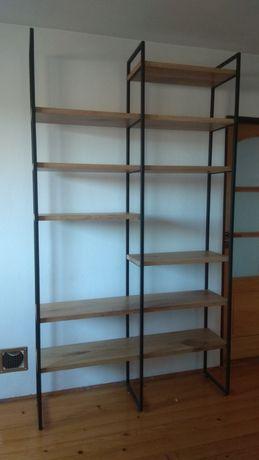 Regały meble salonowe półka na książki Lite drewno Meble na zamowienie