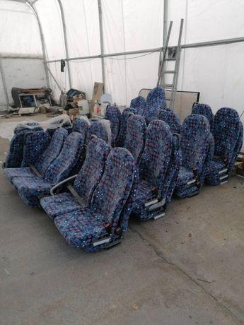 Новые сидения Man. 45 посадочных мест