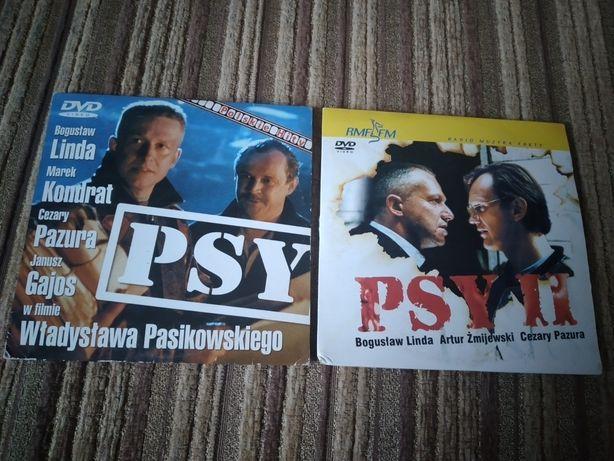 Psy 1 i 2 filmy na dvd