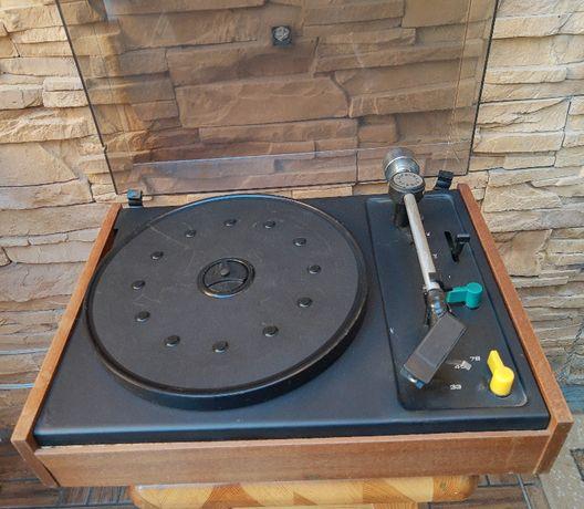 Gramofon niemiecki Funkwerk Zittau Türkis 216