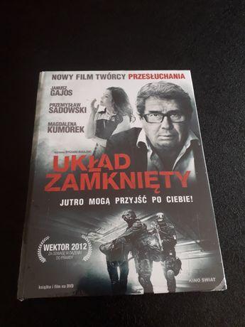Układ zamknięty, film polski nowy w folii.