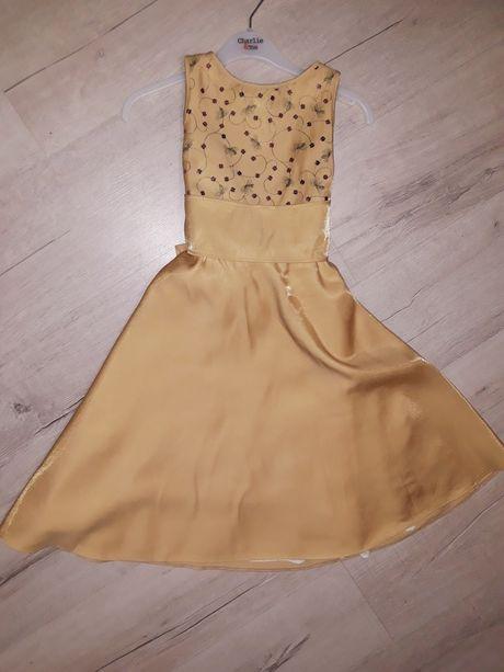 Нарядное платье для девочки 6-8 лет