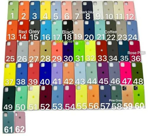 Silicone Case iPhone 6 6s 7 7plus 8+ X XR XS 11Pro Max Чохол Айфон