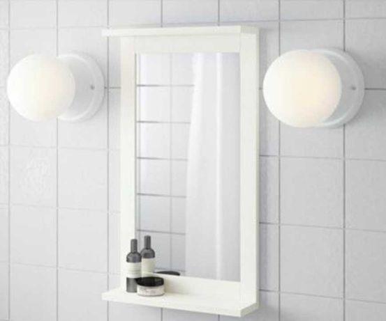 Espelho com prateleira Ikea Novo
