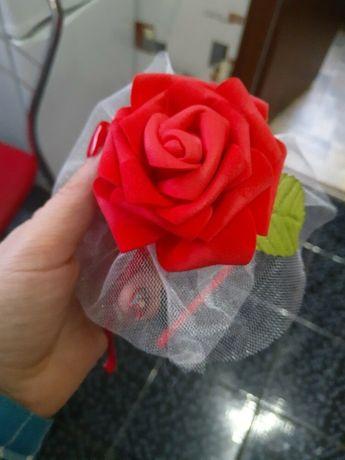 Обруч на голову цветок