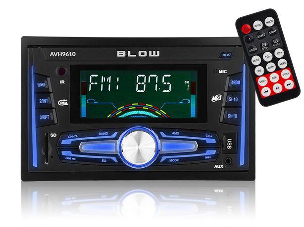 Radio Samochodowe Blow 2-DIN USB Bluetooth AVH-9610