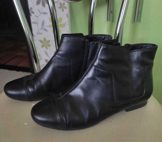 Кожаные ботинки Clarks размер 38