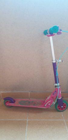 Hulajnoga decathlon oxelo różowa