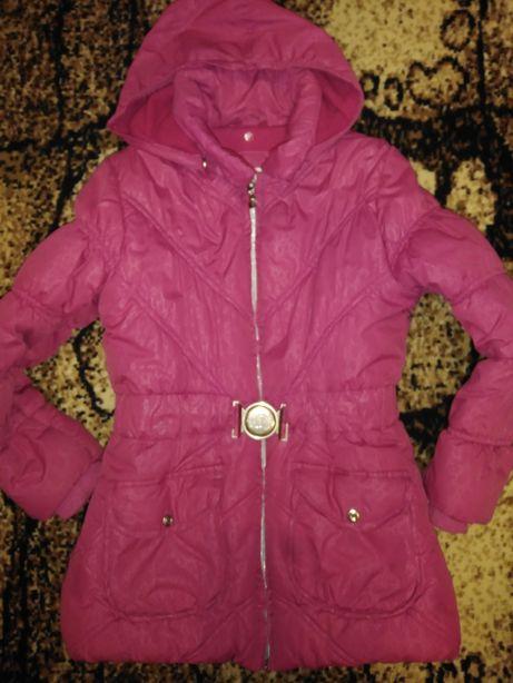 Куртка деми, холодная осень, весна 6-7 лет 128-134