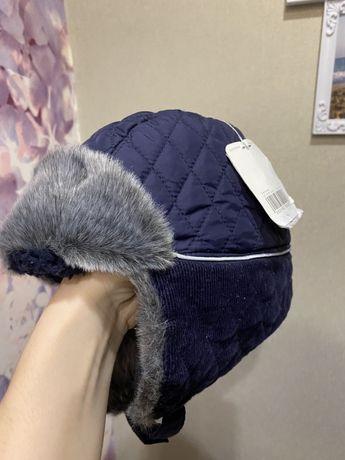 Продам шапку mothercare 1-3года