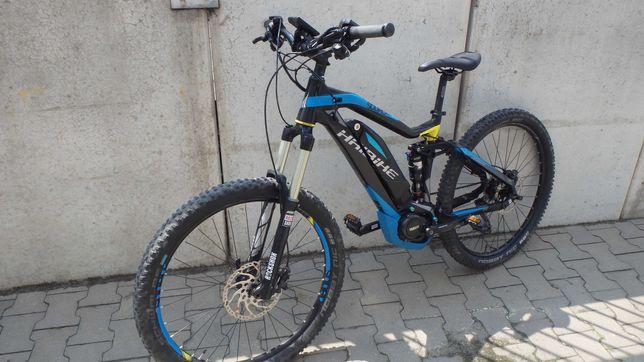 rower elektryczny haibike 150-150/yamaha/xt/rock shox/2x10 speed