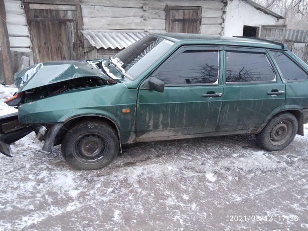Продам ВАЗ 2109 после ДТП