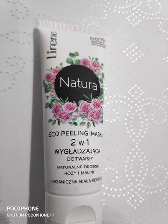 Lirene Natura Eco peeling-maska 2 w 1 do twarzy 75 ml