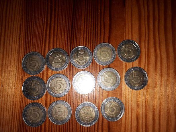 5 złotych limitowane 100lecie niepodległości Polski 25 sztuk