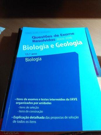 Livro de Exames - Biologia e Geologia 11.º Ano