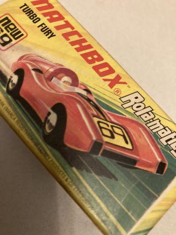 Matchbox Turbo Fury 1973, z pudelkiem