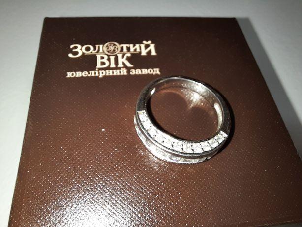 Кольцо серебро камни церконий