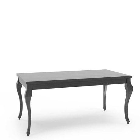 Duży Stół drewniany fornir , czarny , rozkładany 200/300 od ręki Wawa