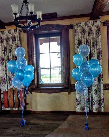 Balony z Helem , Dekoracje na Ślub, Wesele, Pompowanie Helem:)