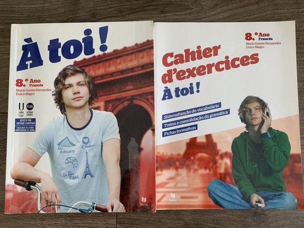 Livro francês- À toi!