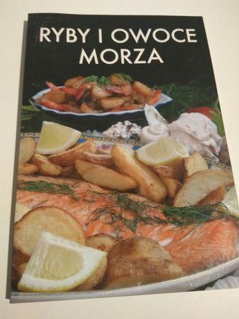 Ryby i owoce morza przepisy książka kucharska