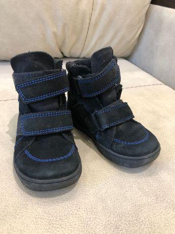 Ботиночки осенние замшевые для мальчика