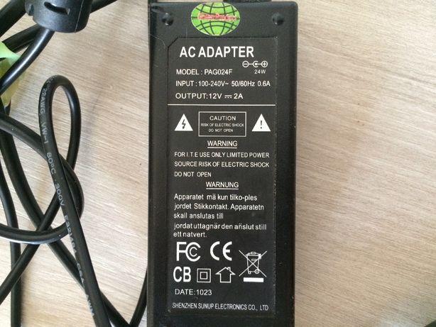 Блок питания постоянного тока 12v 2A 24W PAG024F