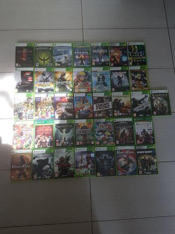 Zestaw gier Xbox 360.