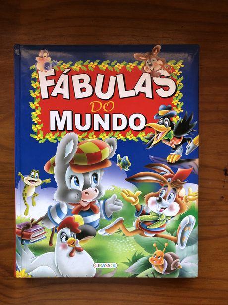 """Livro """"Fábulas do Mundo"""""""