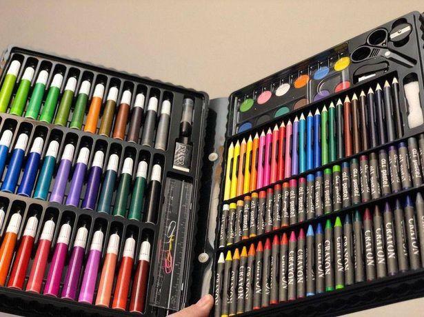 Набор для рисования 150 предметов Art Set юный художник комплект