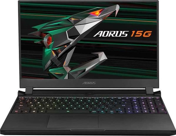 Gigabyte Aorus 15G i7-10870H/32 GB/512GB/RTX 3070/ 240Hz/ Win 10/NOWY