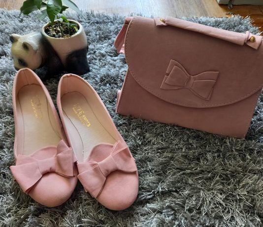 Комплект сумочка і балетки