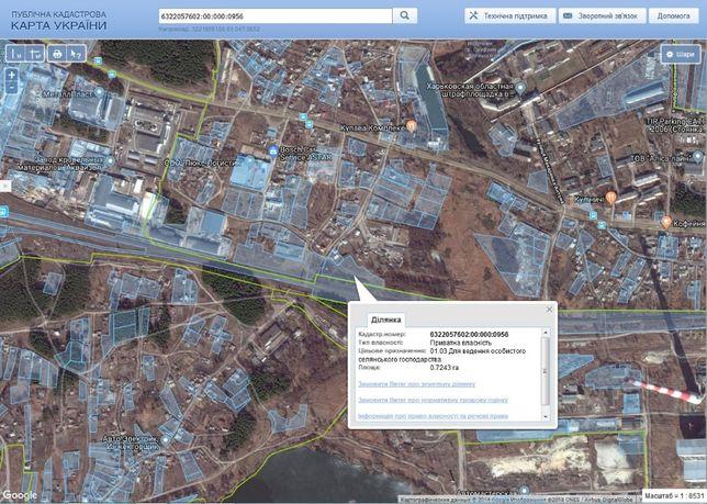 Земельный участок в с.Подворки (под размещение , склада, производства)