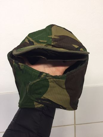Barrete/chapeu caça camuflado militar com forro