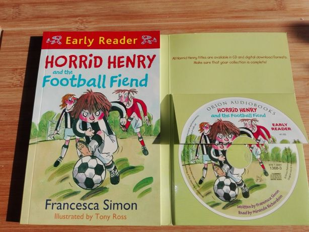 Angielski dla dzieci Horrid Henry and the football fiend