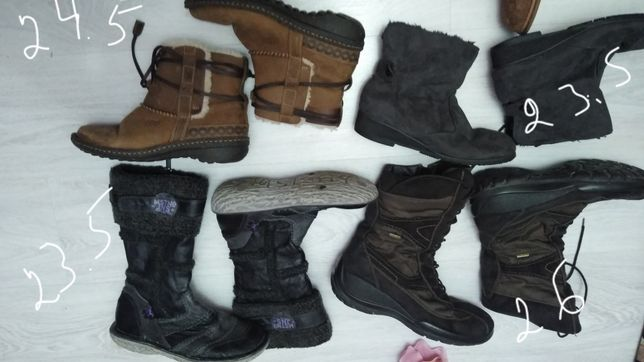 Разные размеры,сапоги зимние,ботинки, фирменная обувь