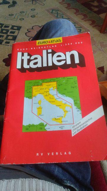 Mapa italien włoch
