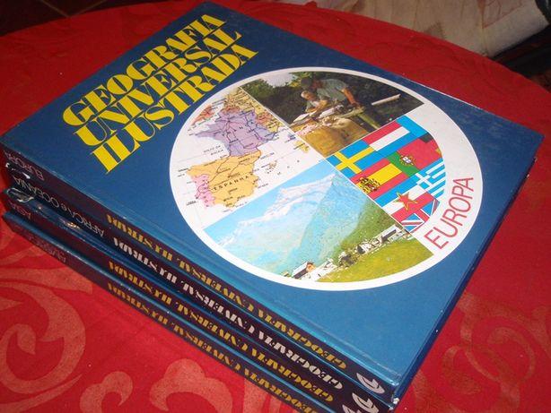 Coleção geografia universal ilustrada