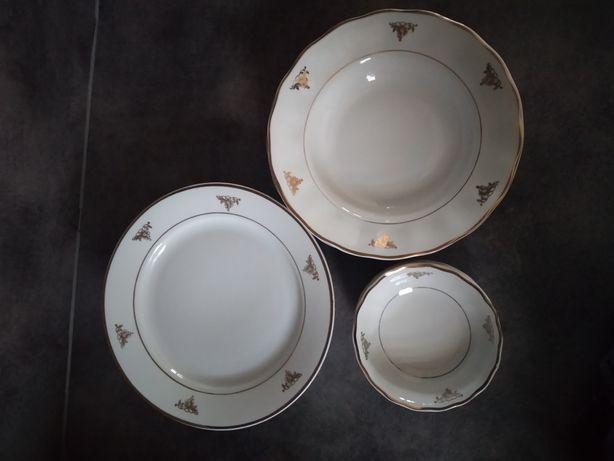 Porcelana Karolina zestaw talerzy